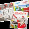 Gratis Mammoet Kids Doeboek met Kleurpotloden
