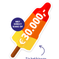 Gratis € 20,- Cash BankGiro Loterij Ijsjes