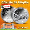 Gratis Officiële UEFA EURO 2020 Munt