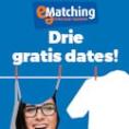 Gratis 3 Dates bij e-Matching