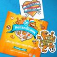 Gratis Hollandicons Tattoo en Sticker