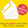 Gratis 5, 10 of 50 Lotto Loten