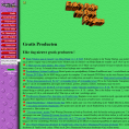 Screenshot Oude Site