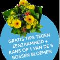 Gratis kans op 1 van de 5 Bossen Bloemen