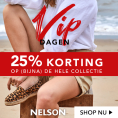Gratis 25% Korting op Schoenen bij Nelson