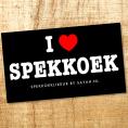 Gratis 'I love spekkoek' Stickers