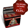 Gratis kans op DE Blik vol Douwe Egberts Koffie t.w.v. €125,-