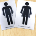 Gratis Genderdiverse Toilet Stickers