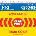 Gratis Glaspunt Meterkast Sticker