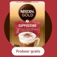 Gratis Nescafé Gold Cappuccino