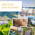 Gratis kans op een Droomreis naar het land van je keuze t.w.v. €1499,-
