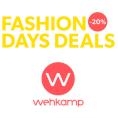 Gratis tot 60% Korting bij Wehkamp met de Fashion Days