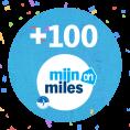 Gratis 100 Airmiles