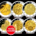 Gratis 5 2-Euro Herdenkingsmunten Ruilen